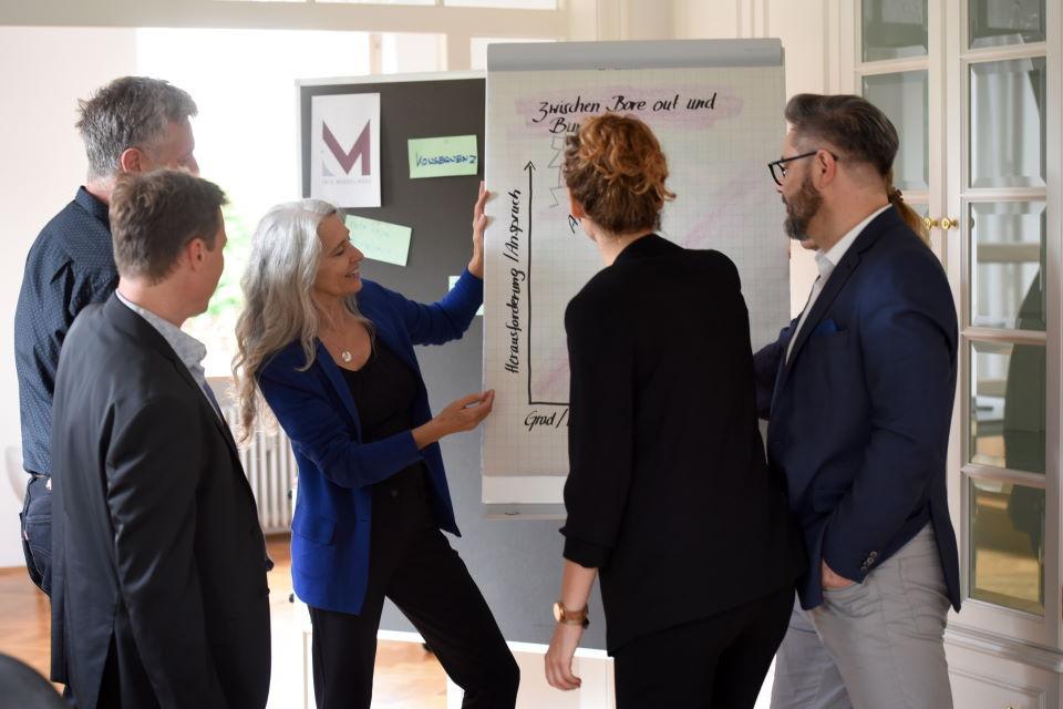 Selbstmanagement Coaching | Iris Middelhove im Gruppencoaching